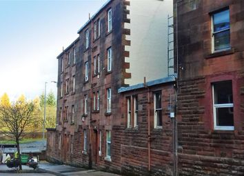 Thumbnail 1 bed flat for sale in Maxwell Street, Port Glasgow