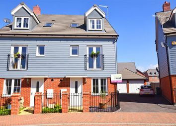 Thumbnail 4 bed town house for sale in Coleridge Crescent, Littlehampton, West Sussex