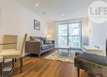 Thumbnail 1 bedroom flat to rent in Talisman Tower, 6 Lincoln Plaza, London