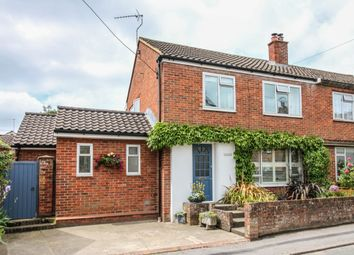 Thumbnail 3 bed semi-detached house for sale in Broughton, Stockbridge, Hampshire