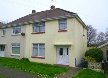 Thumbnail 3 bed semi-detached house for sale in Coombs Drive, Milford Haven