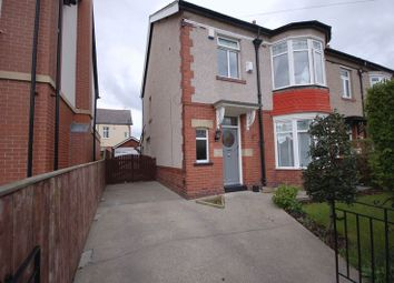 Thumbnail 3 bed property for sale in Evesham Avenue, Whitley Bay