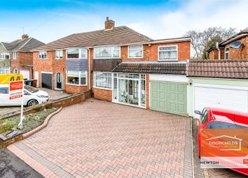 Thumbnail 4 bed semi-detached house for sale in Westway, Pelsall, Walsall