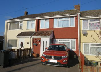 Thumbnail 3 bed terraced house for sale in Madison Close, Yate, Bristol