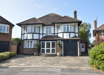 Thumbnail 4 bed detached house for sale in Kelvin Grove, Chessington, Surrey.