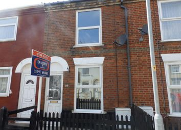 Thumbnail 2 bedroom terraced house to rent in Nelson Road, Gorleston, Great Yarmouth