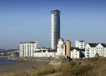 Thumbnail 1 bedroom flat for sale in Meridian Tower, Trawler Road, Swansea