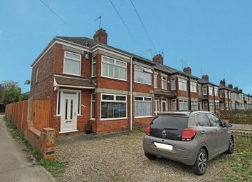 Thumbnail 3 bed end terrace house for sale in Sutton Road, Hull