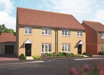 Thumbnail 4 bed semi-detached house for sale in Gentian Mews, Harwell, Didcot