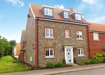 Thumbnail 4 bed link-detached house for sale in Larch Way, Red Lodge, Bury St. Edmunds