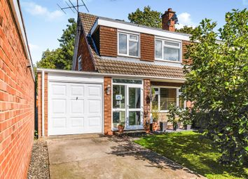 Thumbnail 3 bed semi-detached house for sale in Atherstone Close, Matchborough East, Redditch