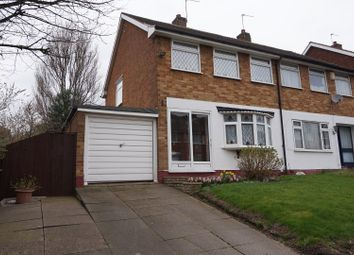 Thumbnail 3 bed semi-detached house for sale in Leamount Drive, Birmingham
