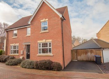 Thumbnail 4 bed detached house for sale in Horace Eves Close, Withersfield Road, Haverhill