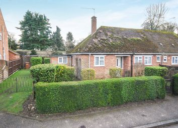 Thumbnail 2 bed semi-detached bungalow for sale in Church Avenue, Croxton, Thetford, Norfolk