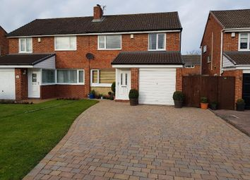 Thumbnail 3 bed semi-detached house to rent in Woodford Green, Eaglescliffe, Stockton-On-Tees