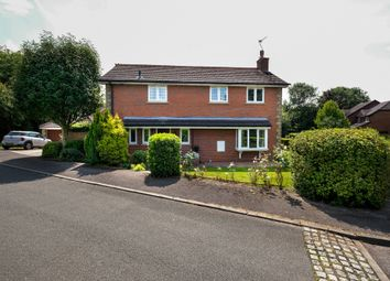 Thumbnail 4 bed detached house for sale in Spurston Close, High Legh, Knutsford
