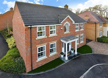 Thumbnail 4 bedroom detached house for sale in Lords Close, Wroughton, Swindon