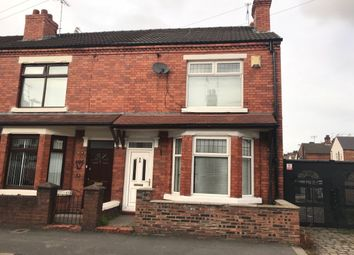Thumbnail 3 bed terraced house for sale in Laura Street, Crewe