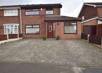 Thumbnail 3 bed semi-detached house for sale in Shaftesbury Drive, Heywood