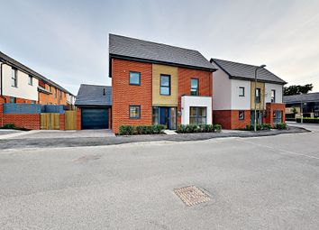 Thumbnail 4 bed link-detached house for sale in Redfields Meadow, Church Crookham, Fleet