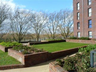 Thumbnail 1 bed flat to rent in Hendon Waterside, West Hendon