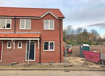 Thumbnail 3 bed semi-detached house for sale in Millbeck Drive, Lincoln