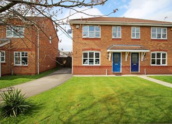 Thumbnail 3 bed semi-detached house for sale in Croftwood Close, Winsford