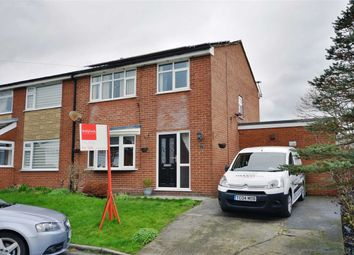 Thumbnail 3 bed semi-detached house for sale in Canaan, Lowton, Warrington