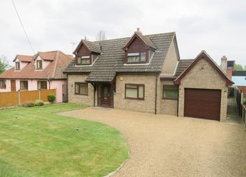 Thumbnail 3 bed detached house for sale in Station Road, Kennett, Newmarket