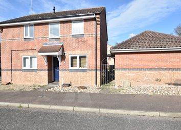 Thumbnail 2 bed semi-detached house for sale in Sorrel Drive, Thetford, Norfolk