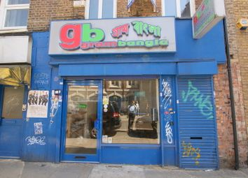 Thumbnail Leisure/hospitality to let in Brick Lane, London