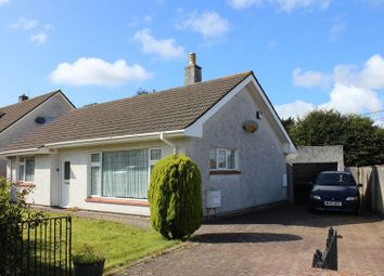 Thumbnail 2 bed detached bungalow for sale in Ashdown Close, Sticker, St. Austell