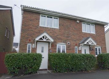 Thumbnail 2 bed semi-detached house for sale in Clos Celyn, Barry, Vale Of Glamorgan