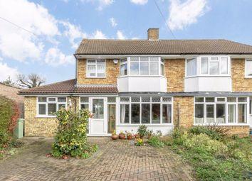 Thumbnail 4 bed semi-detached house for sale in Buckingham Close, Hampton