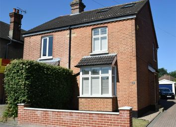 Thumbnail 3 bed semi-detached house for sale in Macdonald Road, Lightwater, Surrey