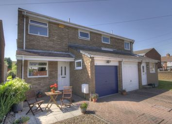 Thumbnail 3 bed semi-detached house for sale in Elsdon Gardens, Consett