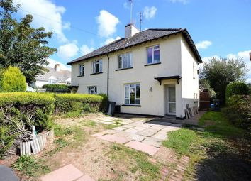 Thumbnail 3 bed semi-detached house for sale in Hillside, Burrow, Newton Poppleford, Sidmouth