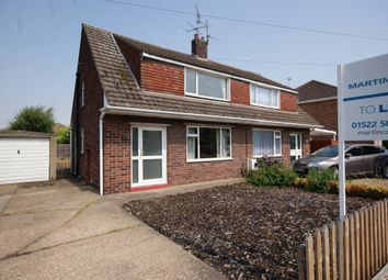 Thumbnail 3 bed semi-detached house to rent in Wetherby Crescent, North Hykeham, Lincoln