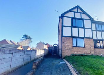 Thumbnail 2 bed end terrace house to rent in Brushwood Avenue, Flint, Flintshire