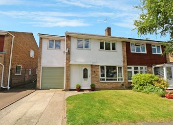 Thumbnail 4 bed semi-detached house for sale in Linnet Drive, Tile Kiln, Chelmsford