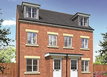"Thumbnail 3 bed town house for sale in ""The Stephenson"" at Peases Cottages, South Terrace, Darlington"