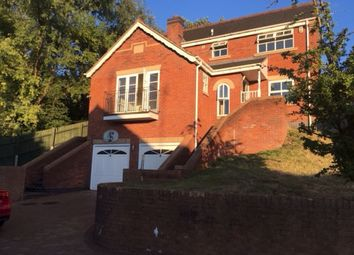 Thumbnail 4 bed detached house to rent in Greenvale Close, Burton-On-Trent, Staffordshire.