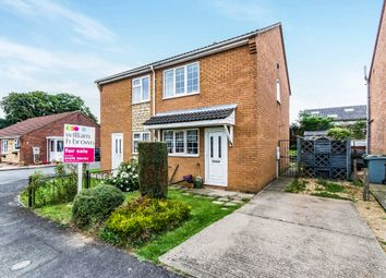 Thumbnail 2 bedroom semi-detached house for sale in Pasture Close, Colsterworth, Grantham