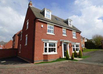 Thumbnail 6 bed detached house for sale in Coltsfoot Way, Broughton Astley