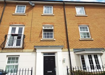 Thumbnail 4 bed town house to rent in Hawthorn Close, Red Lodge, Bury St. Edmunds