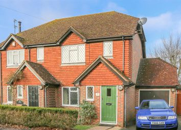 Thumbnail 2 bed semi-detached house for sale in Waldron Road, East Hoathly, Lewes