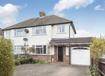 Thumbnail Semi-detached house for sale in Wendover Drive, Bedford