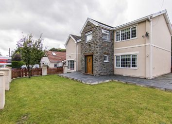 Thumbnail 4 bed detached house for sale in Reservoir Road, Beaufort, Ebbw Vale