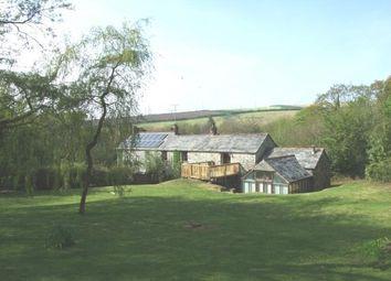 Thumbnail 4 bed barn conversion for sale in Delabole