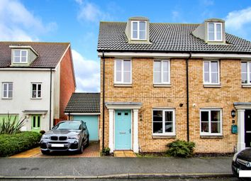 Thumbnail 3 bed semi-detached house for sale in Thomas Crescent, Kesgrave, Ipswich